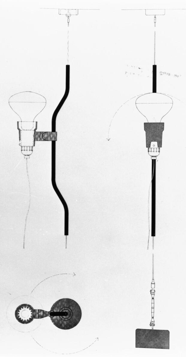 Parentesi Special Edition. 50 aniversario lampara Parentesi Achille Castiglioni y Pio Manzù. Flos. Milan Design Week