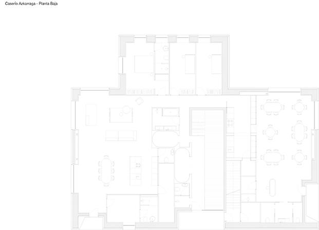Caserío Azkarraga: vivienda, restaurante y agroturismo en Bizkaia. BABELstudio y Bonadona Arquitectura