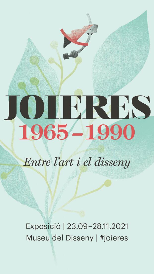 Exposición Joyeras 1965-1990 en el Museu del Disseny de Barcelona