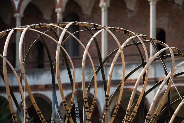 OPPO Kengo Kuma Bamboo Ring Milán