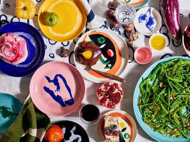Un festín visual en la mesa. Ottolenghi x Ivo Bisignano for Serax