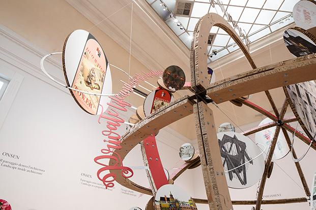 """Exposición """"Cosmowomen. Places as constellations"""" en La Galleria Nazionale di Roma de Izaskun Chinchilla"""