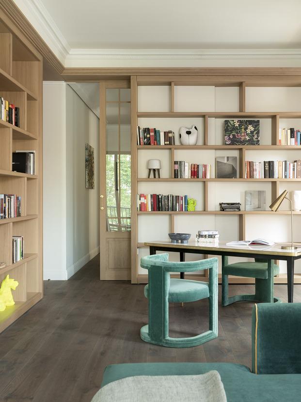 Gran reforma en Palma de Mallorca por la interiorista Bárbara Aurell. Home office