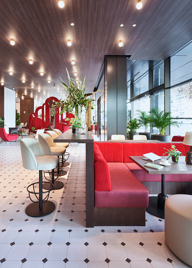 Primer hotel Canopy by Hilton Madrid interiorismo Jaime Beriestain