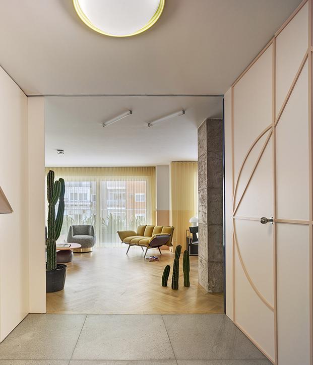 Estudio Numero 26 reforma antiguas oficinas Electrofil en vivienda