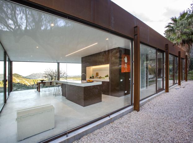 TECHNAL. Casa de Cristal en Alicante