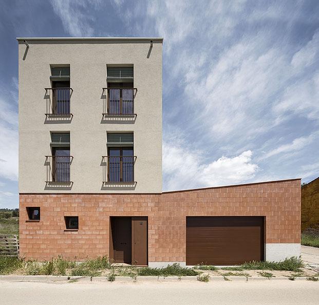 Casa MDN vivienda en el Penedés proyectada por Nook Architects